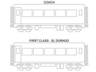 First Class & Coach - 2 Sections